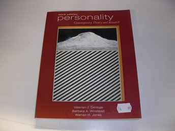 Personality - Contemporary theory and research