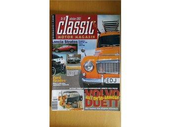 Classic Motor 10 2003: Volvo Duett 50 år, Vauxhall Velox 1952, Chevelle SS 1970 - Uppsala - Classic Motor 10 2003: Volvo Duett 50 år, Vauxhall Velox 1952, Chevelle SS 1970 - Uppsala
