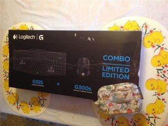 Gaming-tangentbord med mus,Logitech G105 och G300S.ord 999kr.köpt 2vsen. kvit+2å - Mockfjärd - Gaming-tangentbord med mus,Logitech G105 och G300S.ord 999kr.köpt 2vsen. kvit+2å - Mockfjärd