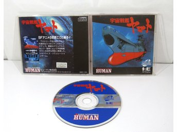Space Battleship Yamato till Pc engine Super CD-ROM2