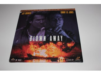 Blown Away Laser disc film i fint skick