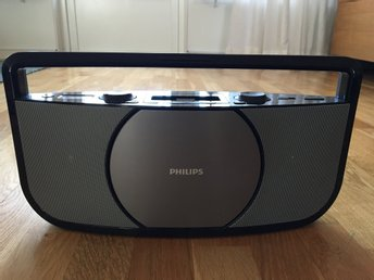 Philips AZD1755/ Cd soundmachine, dockningsstation för iPod och iPhone