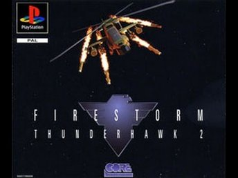 Firestorm - Thunderhawk 2 - Playstation PS1