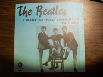 "Beatles ""I want to hold your hand"" 60s orginal"