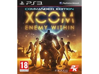 XCOM Enemy Within Commander Edition (PS3) NYTT & INPLASTAT