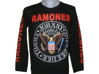 LONG-SLEEVED T-SHIRT: RAMONES  (Size XL)