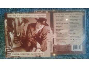 STEVIE RAY VAUGHAN & FRIENDS Solos, Sessions & Encores CD (Bowie, Jeff Beck mfl)