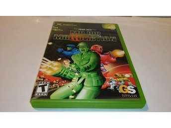 XBOX ARMY MEN MAJOR MALFUNCTION NTSC BEGAGNAD