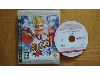 PlayStation 3/PS3: Buzz: Quiz TV Special Edition (svenskt tal, kräver Buzzers)