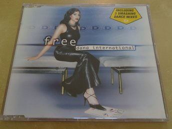 DANA INTERNATIONAL Free PAUSINSLAG i Eurovision 1999 Israel CD Singel