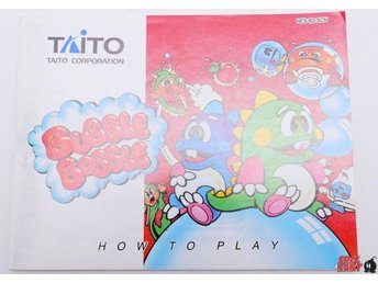 Bubble Bobble Manual SCN