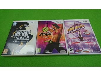 3-Pack Dans spel bl.a Zumba Fitness Join the Party m.m Nintendo Wii