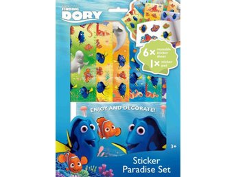 Hitta Doris - Finding Dory Kit Sticker Paradise set - Blad & block med klister