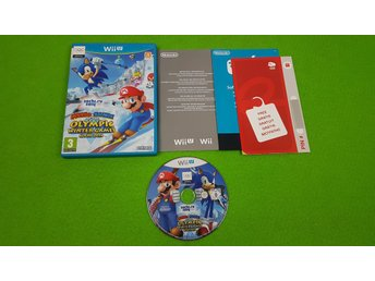 Mario & Sonic at the Olympic Games Sochi 2014 Nintendo WiiU wii u