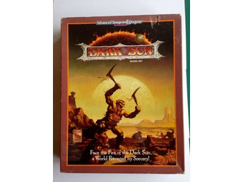 Dark Sun Box - Dungeons & Dragons 2:ND Ed.