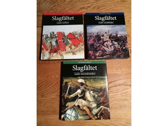 Slagfältet under antiken - medeltiden - stormaktstiden 3 vol / Historiska media