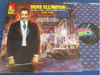 DUKE ELLINGTON Volume Two 1928-29 Hot in Harlem LP MCA USA -73 Swing Jazz