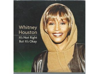 WHITNEY HOUSTON - IT´S NOT RIGHT  BUT IT´ ( CD MAXI/SINGLE )