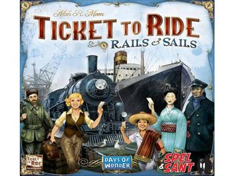 Ticket to Ride Rails & Sails (Engelsk Version)