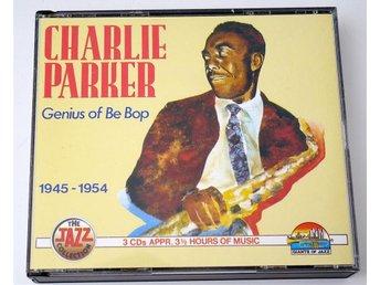 Charlie Parker / Genius of Be Bop - 1945-1954 3-CD