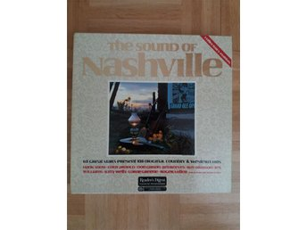 LP-box The Sound of Nashville 108 original County & Western hits vinyl