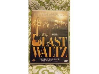 The last waltz *OOP utgången film* Scorsese, The band, Dylan, Clapton, Young mfl
