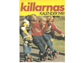 KILLARNAS KALENDER 1981 (12) Sport mm