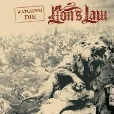 "Lions Law - Watch em die (7""Ep). punk, oi, skinhead"