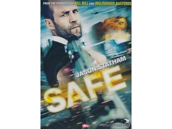 Safe 2011 DVD Jason Statham och Chris Sarandon.