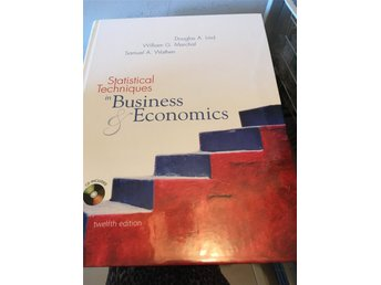 Statistical Techniques in Business Economics (MBA kurs literatur)