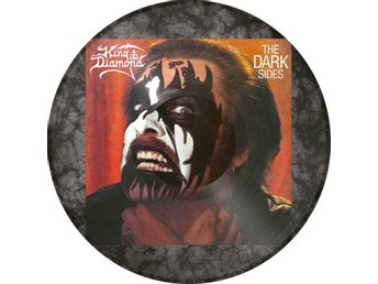 King Diamond -The dark sides PIC-DISC Metal Blade ltd 2000 c