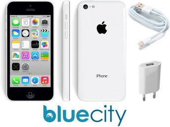 Apple iPhone 5c 32GB, vit, white, RIMLIGT SKICK