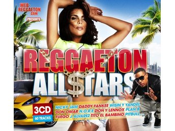 Reggaeton All Stars (3 CD)