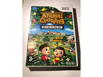 Animal Crossing Lets go to the city (Första utgåvan NYTT SWD / WII)