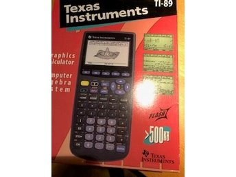 Texas Instrument Ti-89 Graphics Calculator i oöppnad förpackning