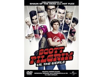 DVD SCOTT PILGRIM VS THE WORLD!!