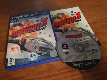 BURNOUT 3 TAKEDOWN PS2 BEG