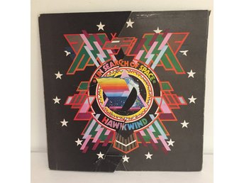 Hawkwind - In search of Space  M Utfällbart cover! Lp