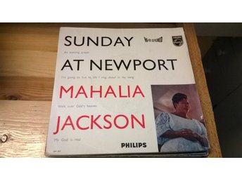 Mahalia Jackson - Sunday At Newport, EP