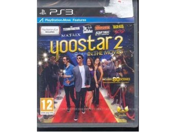 PLAYSTATION MOVE SPEL -YOOSTAR 2 MOVIES(INPLASTAT PS3 SPEL )