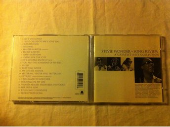 Stevie Wonder - Song Review. A Greatest Hits Collection.