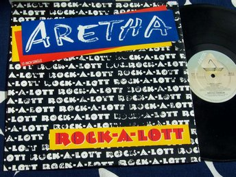 "ARETHA - ROCK-A-LOTT 12"" 1986 UK"