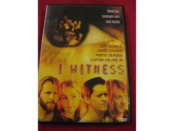 I WITNESS - JEFF DANIELS, JAMES SPADER, PORTIA DE ROSSI - DVD