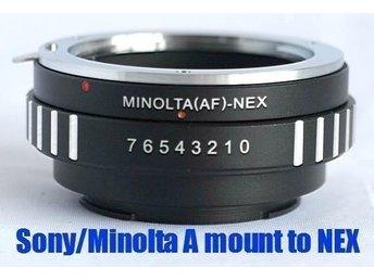 Sony Alpha / Minolta MA Lens to Sony E NEX-3 NEX-5 NEX-7 - Trollhättan - Sony Alpha / Minolta MA Lens to Sony E NEX-3 NEX-5 NEX-7 - Trollhättan