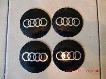 Audi 3D 68mm vattentät centrum navkapseln klistermärke - Mölndal - Audi 3D 68mm vattentät centrum navkapseln klistermärke - Mölndal