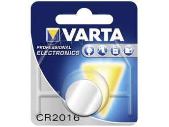 100x1 Varta electronic CR 2016 PU master box