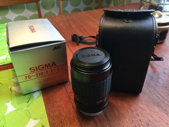Sigma MF 70-210mm f/4-5.6