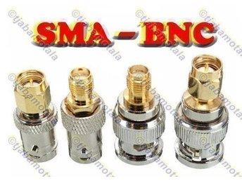 BNC - SMA (4st) Adapter, 50 ohm - Motala - BNC - SMA (4st) Adapter, 50 ohm - Motala