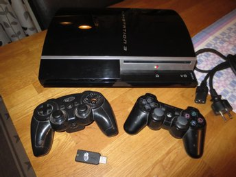 Playstation 3 med 1 handkontroll (CECHL04) 80 Gb HDD