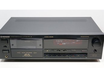 PIONEER  CT-S609R Stereo Cassette Tape Deck